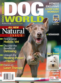 Image of Dog World Magazine, March 2010