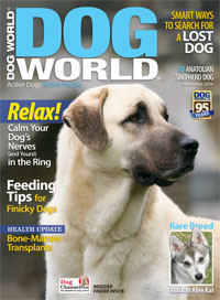 Picture of Dog World Magazine's November issue