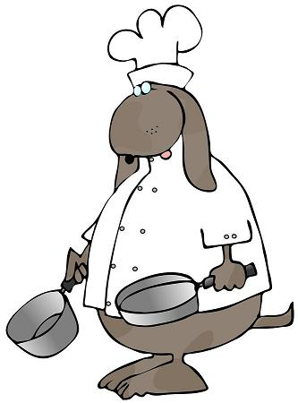 Graphic of Dog Chef